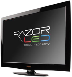 Front view of the VIZIO M420NV 42-inch RazorLED LCD HDTV