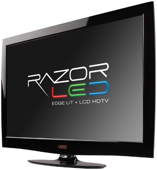 Front View Of The VIZIO M320NV 32 Inch RazorLED LCD HDTV