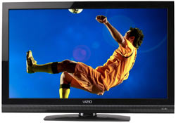 Front view of the VIZIO E320VA 32-inch LCD HDTV
