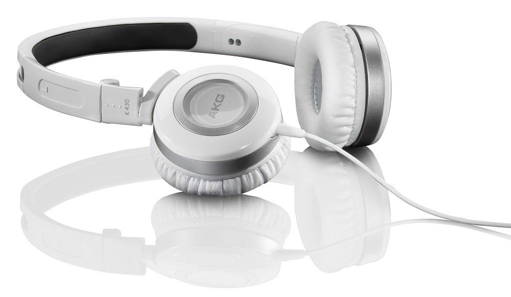 Amazon.com: AKG K430WHT Foldable Mini Headphones, White