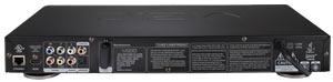 Back panel of the VIZIO VBR220 High Definition Blu-Ray Player