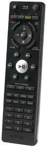 VIZIO Blu-ray remote