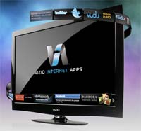 VIZIO VBR333 Internet Apps