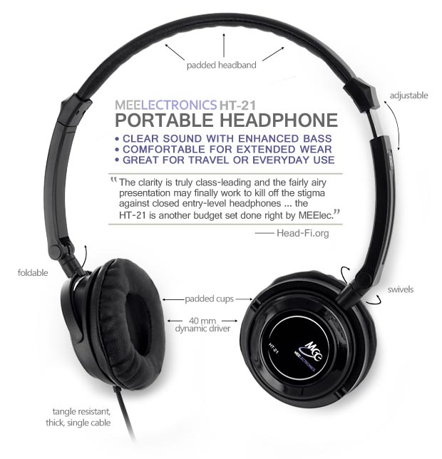 The HT-21 Portable Headphone