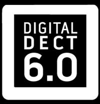 This is a picture of the DECT 6.0 logo