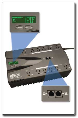 LCD and Tel/DSL Surge Protection