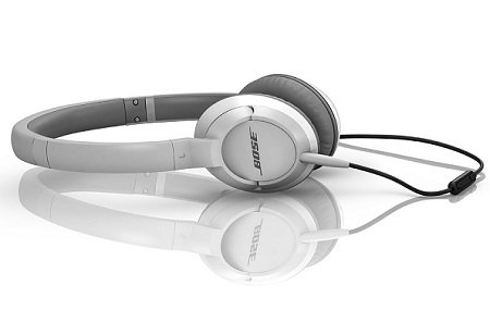 Bose OE2i audio headphones - white