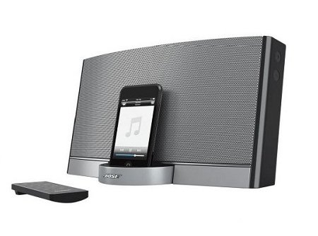 bose sounddock portable 30 pin ipod iphone speaker dock home audio theater. Black Bedroom Furniture Sets. Home Design Ideas