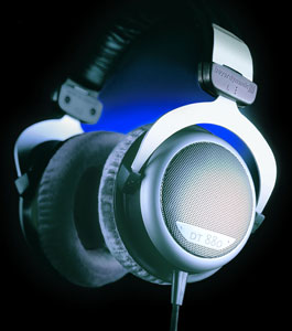 The beyerdynamic DT 880 Headphones