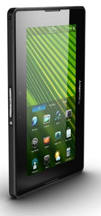 BlackBerry PlayBook tall