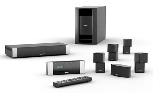 bose lifestyle v30 home theater system black discontinued by manufacturer home. Black Bedroom Furniture Sets. Home Design Ideas