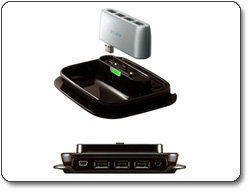 Belkin 2-in-1 USB 2.0 7-Port Hub F5U706