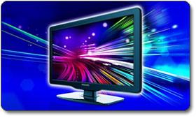 Philips 22PFL4505D/F7 22-Inch 720p LED LCD HDTV, Black