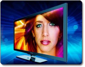 Philips 55PFL7505D/F7 55-Inch 1080p 120 Hz LED LCD HDTV, Black