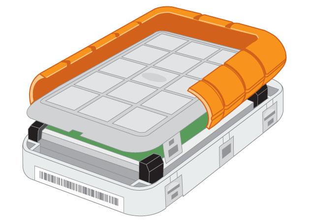 G-DRIVE Mobile 1TB USB HD w/FireWire