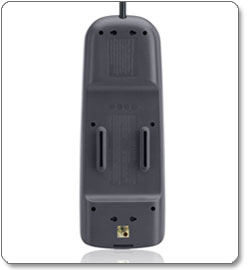 Eight-Outlet AV Surge Protector with 6-Foot Power Cord and Telephone and Cable/Satellite Protection