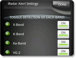 Cobra iRadar Detection System for Android-based Smartphones (IRAD 105) lifestyle shot