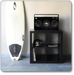 TDK Life on Record 3-Speaker Boombox