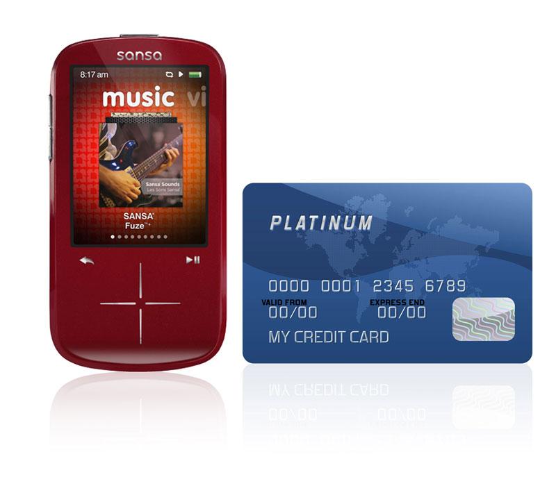 amazon com sandisk sansa fuze 4 gb mp3 player red discontinued rh amazon com Sansa Clip Support sansa fuze manual pdf