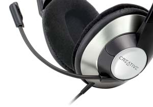 The Creative ChatMas HS-620 Headset