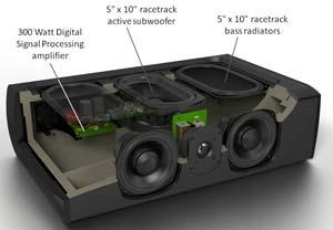 The Defnitive Technology CS-8080HD