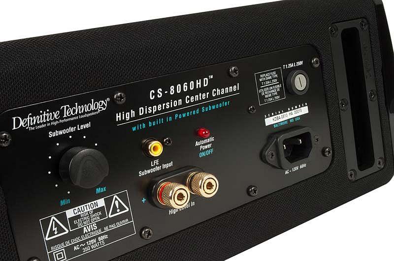 Definitive Technology CS-10HD Powered Subwoofer (Center Channel)