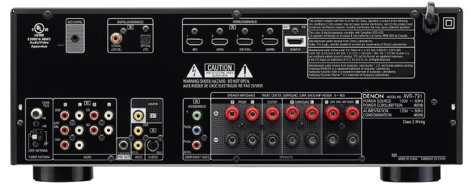 Amazon.com: Denon AVR-791 7.1 Channel AV Home Theater