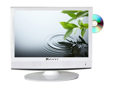 Favi L1918a V Wh 19 Inch 720p Lcd Hdtv With Built In Dvd Playercard