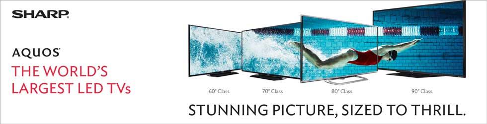 Sharp LC-70LE550U 60-Inch 1080p 120Hz LED HDTV