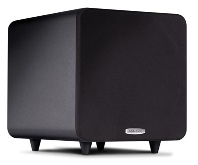 Polk Audio PSW111 powered subwoofer in black
