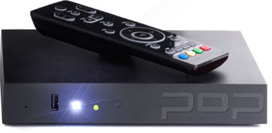 Popbox with Remote