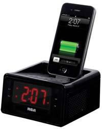 amazon com rca dual alarm clock ipod charging station with digital rh amazon com rca alarm clock radio instructions rca cd clock radio dual wake manual