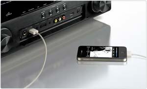 Yamaha AVENTAGE Front Panel USB