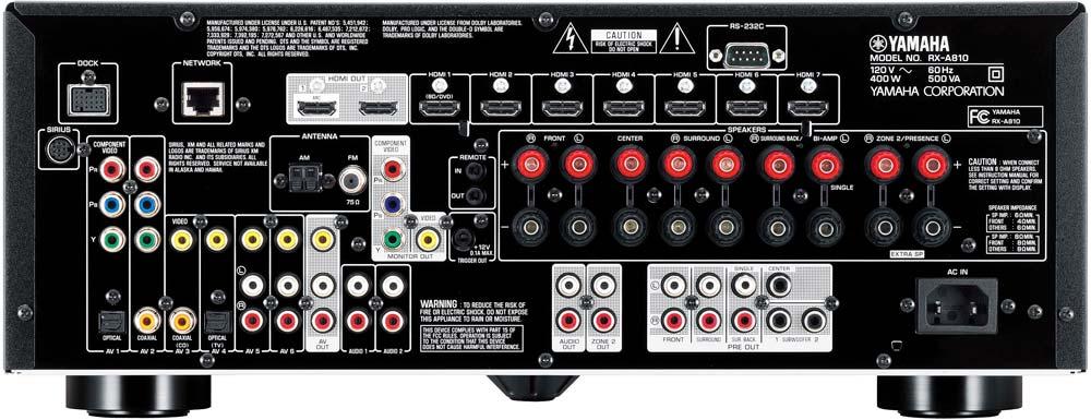 Amazon.com: Yamaha RX-A810BL 7.2-Channel Network AV