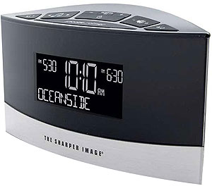 Amazoncom The Sharper Image Ec B100 Sound Soother Alarm Clock