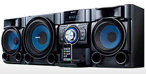 sony stereo system. audio-in jack sony stereo system l