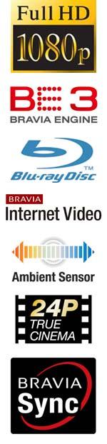 BRAVIA EX40B Series HDTV