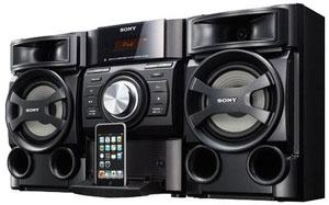 Amazon Com Sony Mhc Ec69i Mini Hi Fi Shelf System