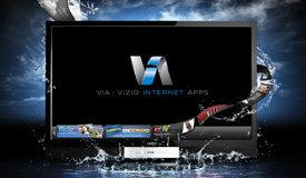 VIZIO full 1080p high definition resolution graphic