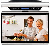 Elegant Venturer 15.6 Under Cabinet Lcd Hdtv with Wi Fi Streaming