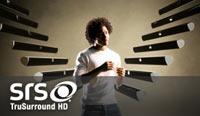 VIZIO SRS TruSurround HD technology graphic