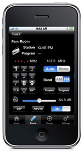 The Yamaha AVENTAGE iPhone App