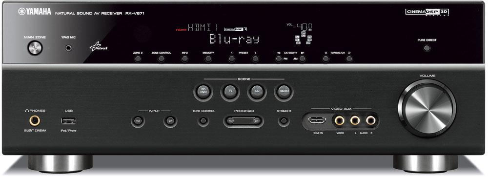 Amazon.com: Yamaha RX-V671 7.1- Channel Network AV Receiver: Home