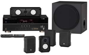 The Yamaha YHT-395 Home Theater System