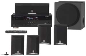 The Yamaha YHT-595 Theater System