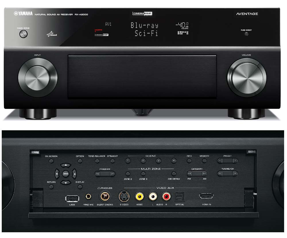 Amazon yamaha rx a2000 71 channel audiovideo receiver old click to enlarge fandeluxe Gallery