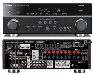 The Yamaha RX-V867 Receiver