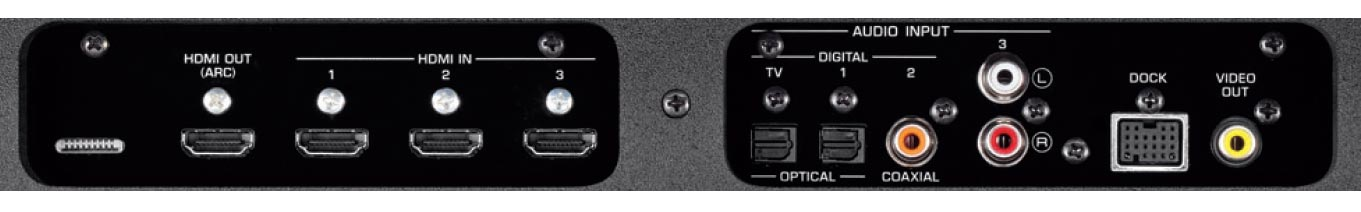 Yamaha yrs 700 tv stand includes 7 1 channel home theater for Yamaha 7 2 home theatre system