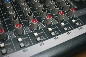 The ZED-10FX Mixer