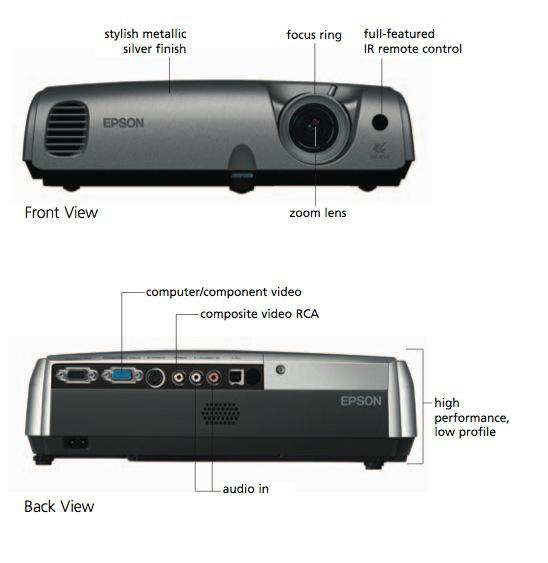 amazon com epson powerlite 76c lcd projector electronics rh amazon com Epson PowerLite S11 Epson PowerLite X27